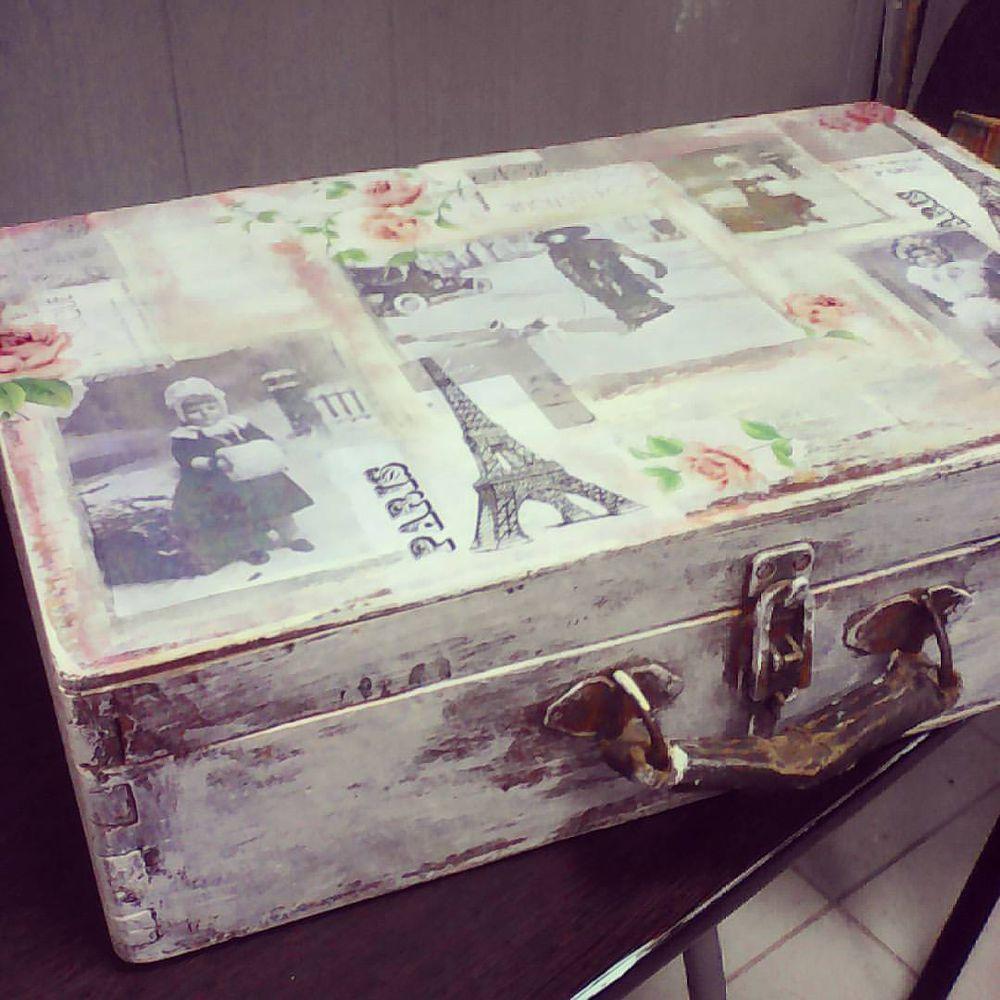 МК по декупажу чемодана 13.10.16, фото № 5