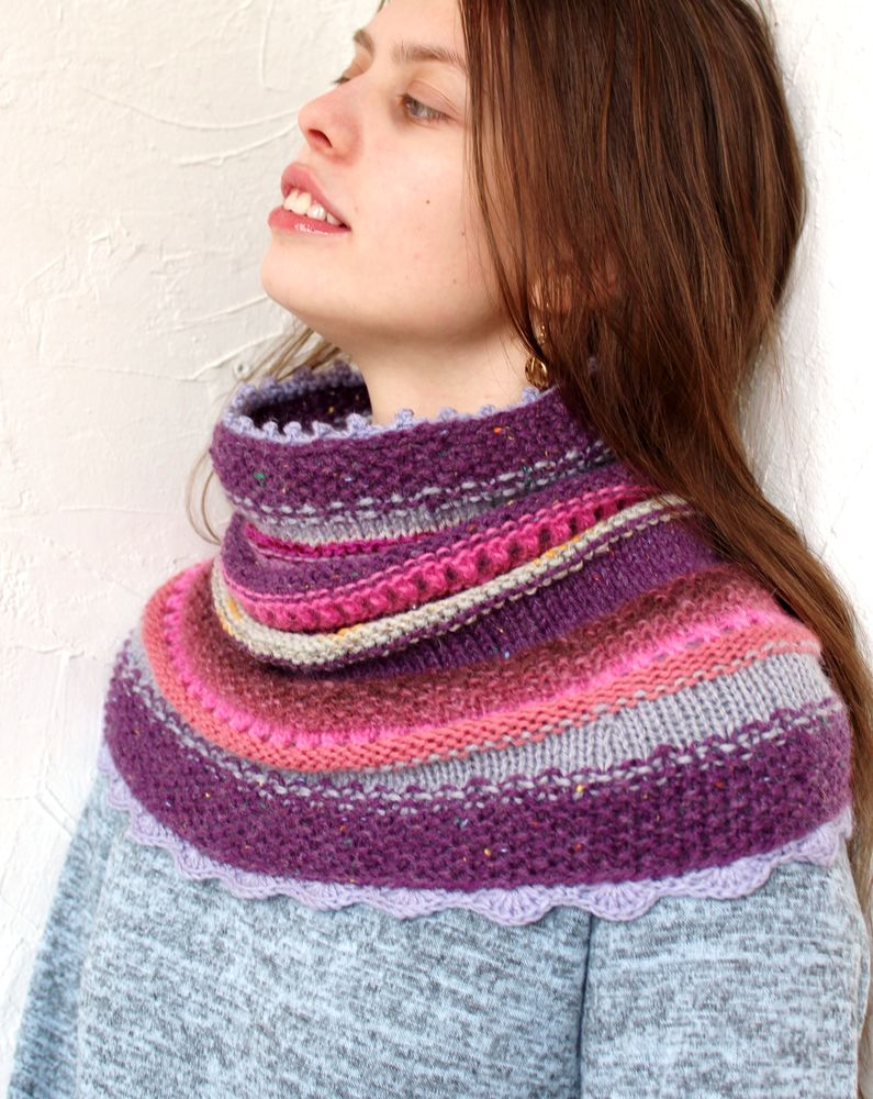 шарф воротник