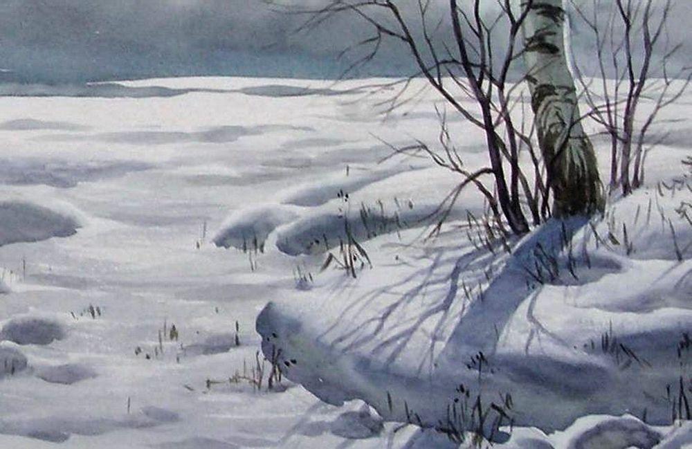 Акварельные пейзажи художника Ильи Горгоца, фото № 42