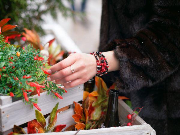 Как носить цветочные украшения зимой. Часть 1 | Ярмарка Мастеров - ручная работа, handmade