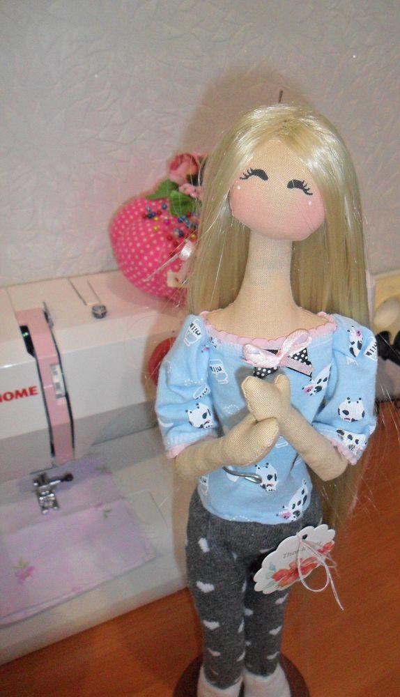 текстильная кукла, интерьерная игрушка