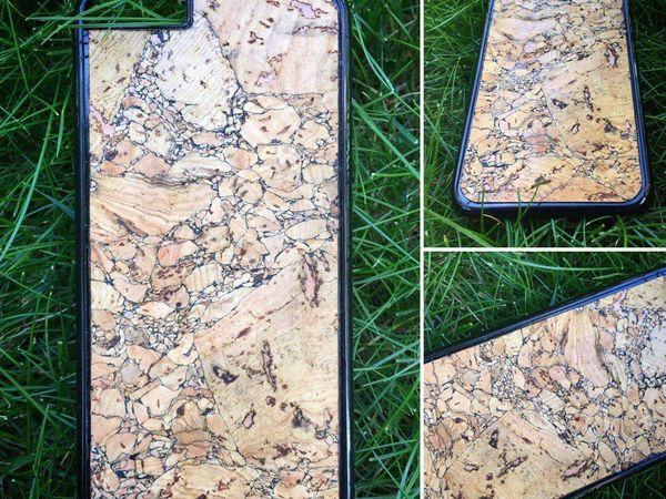 Появился чехол для телефона из Пробкового дерева | Ярмарка Мастеров - ручная работа, handmade