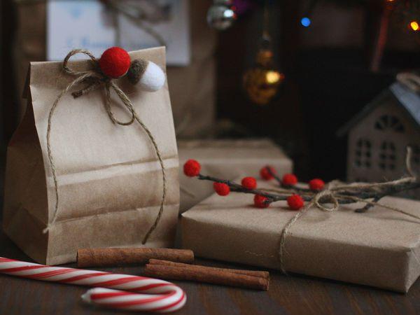 Видеоурок: оригинально упаковываем подарки к Новому году | Ярмарка Мастеров - ручная работа, handmade