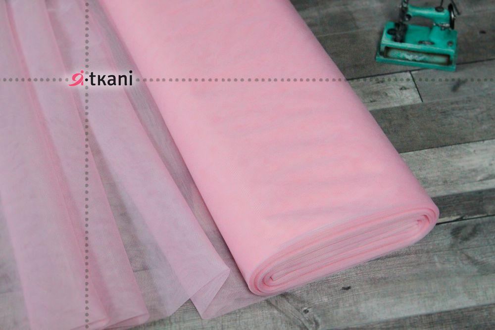 фатин, светло-розовый