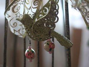 Создаем очаровательные серьги-пионы из глины. Ярмарка Мастеров - ручная работа, handmade.