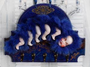 Сон о крыльях или когда спящий проснется... | Ярмарка Мастеров - ручная работа, handmade