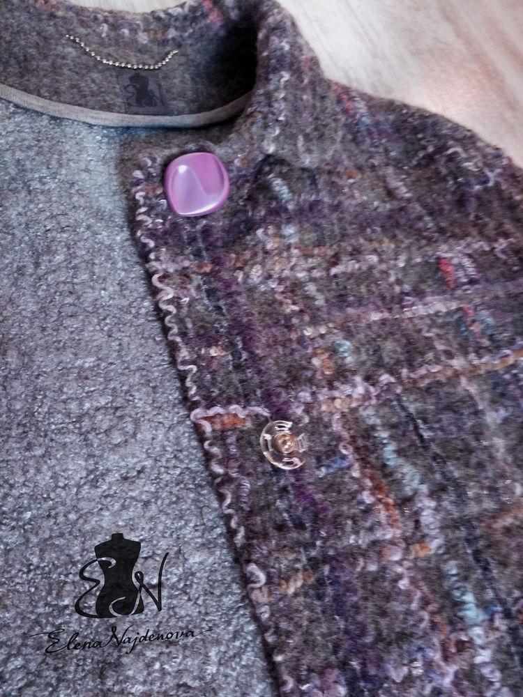 валяное пальто, видео мастер-класс