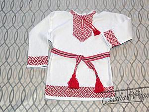Sewing Russian Folk Shirt. Livemaster - handmade
