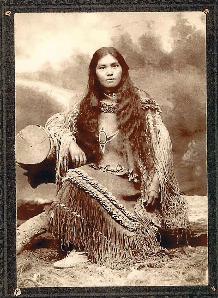 What the Indigenous Women of North America Looked Like: Vintage Photos of Indian Girls, фото № 7
