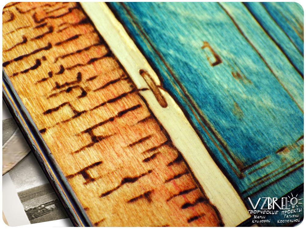 деревянный блокнот, архитектура