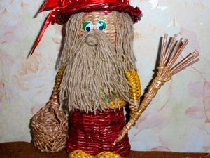 Видео мастер-класс по плетению домовенка из бумажных трубочек. Часть 2. Ярмарка Мастеров - ручная работа, handmade.