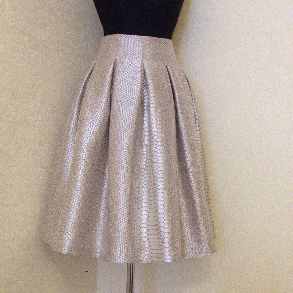 юбка к новому году, пышная юбка