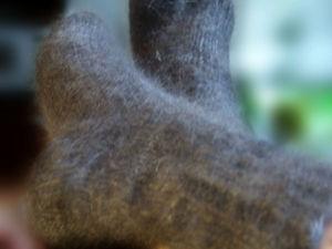 В наличии пуховые носки
