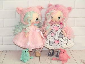 Всего две куколки, две девочки хрюшеньки!. Ярмарка Мастеров - ручная работа, handmade.