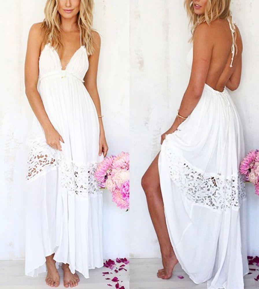 Белое бохо, или Шикарная одежда для королевы летнего пляжа, фото № 92