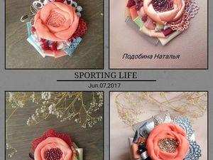 Сладкий персик,новые розы.   Ярмарка Мастеров - ручная работа, handmade