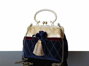 Скидка 20% на все Готовые сумочки на фермуарах, до 22/10. Ярмарка Мастеров - ручная работа, handmade.
