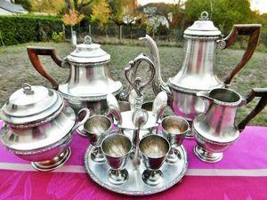 Роскошный кофейно-чайный сервиз и круэт для завтрака уже в магазине!. Ярмарка Мастеров - ручная работа, handmade.