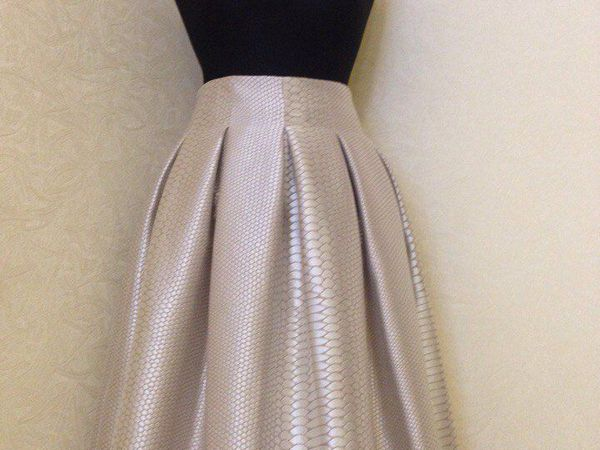 Новая юбка к Новому Году! | Ярмарка Мастеров - ручная работа, handmade