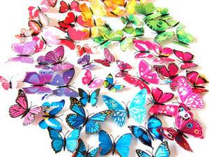 Новое поступление — наборы декоративных бабочек. Ярмарка Мастеров - ручная работа, handmade.