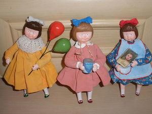 Куколки - подвески