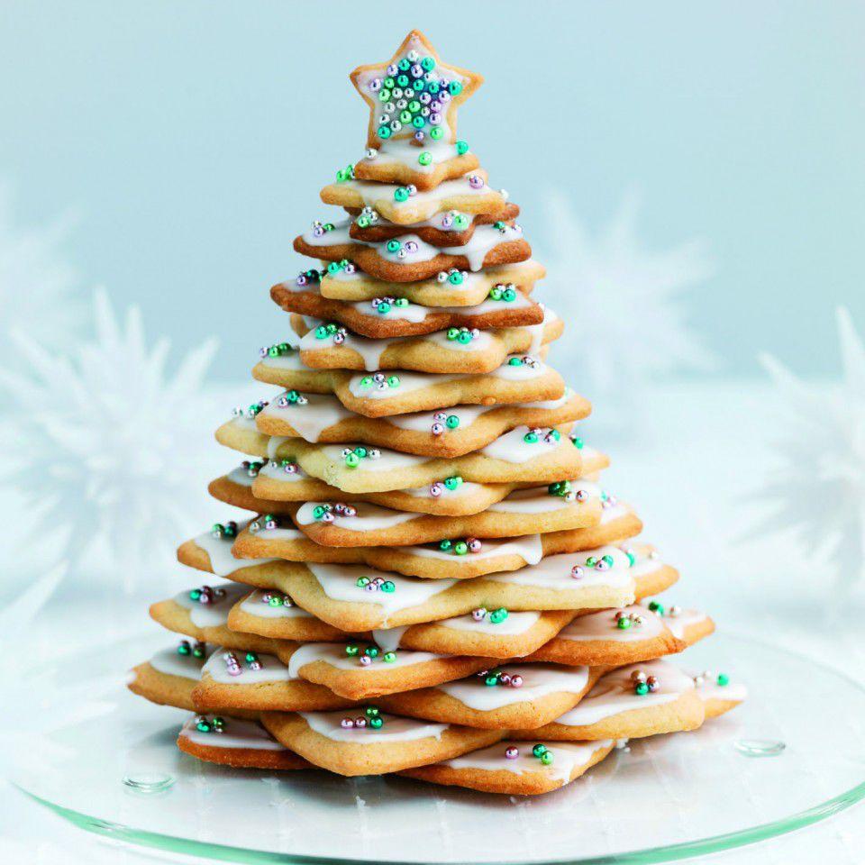 выпечка новогодние елки фото создавался