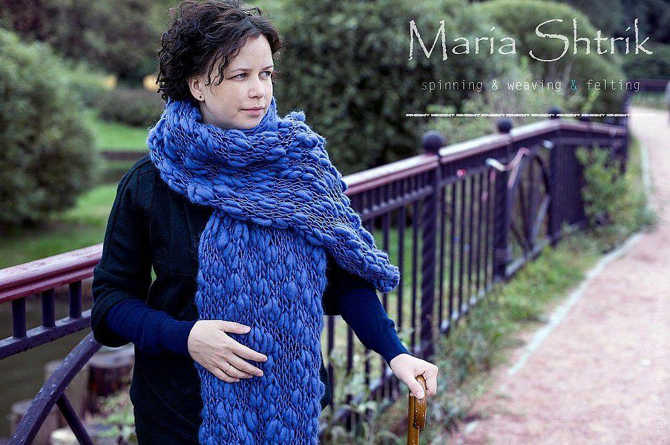 украса, мария штрик, веретено, прядение на веретене
