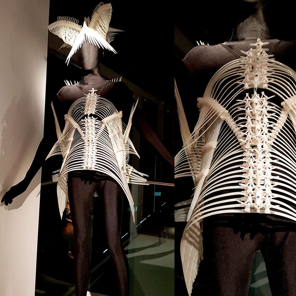 Платье как произведение искусства в World of WearableArt в Эрарте