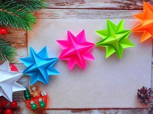 Handmade Paper Christmas Garland. Livemaster - handmade