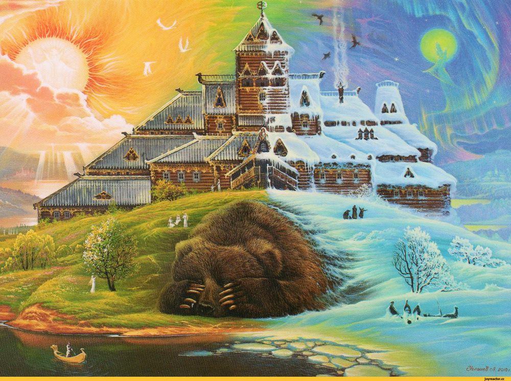 календарь, славянский стиль, славянские традиции, русь, традиция, времена года, осень, зима, весна, лето