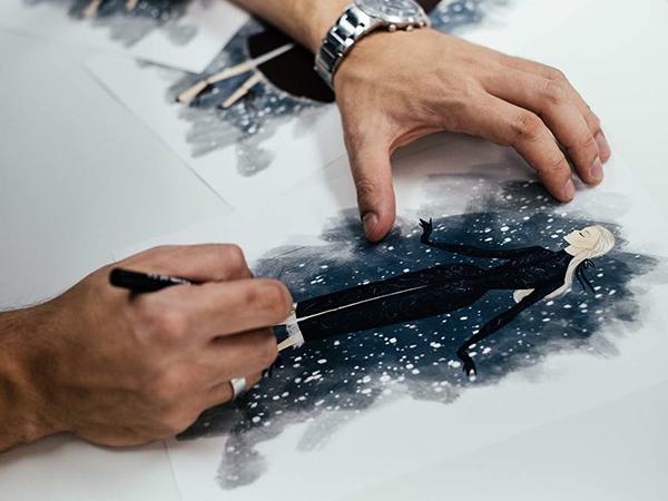 Щелкунчик и Высокая мода: Paolo Sebastian 2018–19 AW Couture