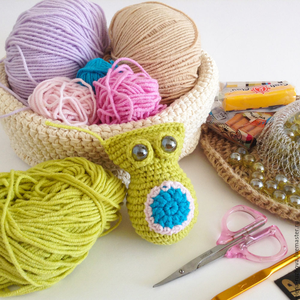 Crocheting a Charming Little Owlet with Tassels on Ears, фото № 7