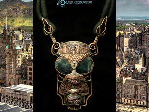 The Spirit of Old Edinburgh. Детали и тема для вдохновения. Ярмарка Мастеров - ручная работа, handmade.