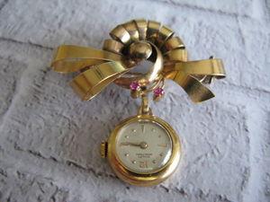 Антикварные золотые (750) брошь-кулон-часы с скидкой в 50%. Ярмарка Мастеров - ручная работа, handmade.