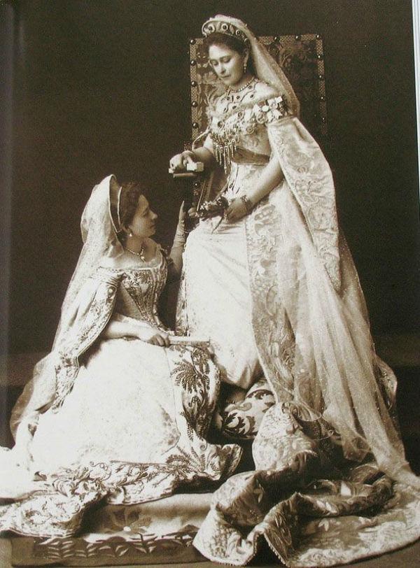 Придворное форменное платье. Часть 1, фото № 17