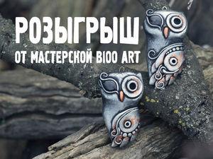 Розыгрыш от Мастерской Bioo Art. Ярмарка Мастеров - ручная работа, handmade.