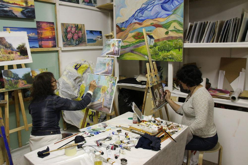 уроки рисования, уроки живописи