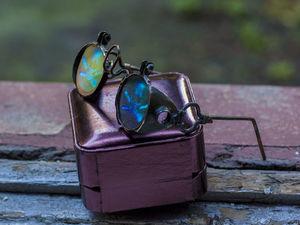 На глазок: стимпанк-гогглы, сделанные мной за разные годы. Часть третья. Ярмарка Мастеров - ручная работа, handmade.