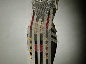 Новый взгляд на кольчугу от дизайнера Elaine Unzicker. Ярмарка Мастеров - ручная работа, handmade.