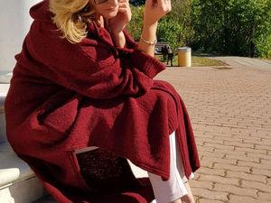 """Осенняя палитра — роскошный 5524 Софт Донегал — кардиган пальто """"Chic"""" от Татьяны. Скидки 15%!. Ярмарка Мастеров - ручная работа, handmade."""