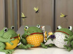 Выкройка Лягушки. Ярмарка Мастеров - ручная работа, handmade.