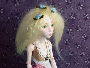 Видео мастер-класс: шарнирная кукла из полимерной глины. Урок 1. Ярмарка Мастеров - ручная работа, handmade.