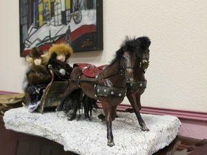 Мастерим интерьерную композицию «Зимняя прогулка». Ярмарка Мастеров - ручная работа, handmade.