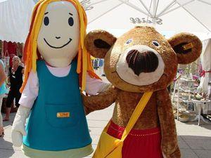 Летний праздник медведей Тедди фирмы Штайф. Ярмарка Мастеров - ручная работа, handmade.