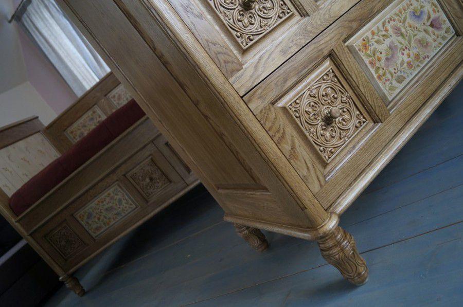 декор мебели, мебель с декором, материаловедение, наталья строганова