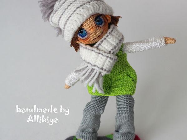Витя сноубордист | Ярмарка Мастеров - ручная работа, handmade