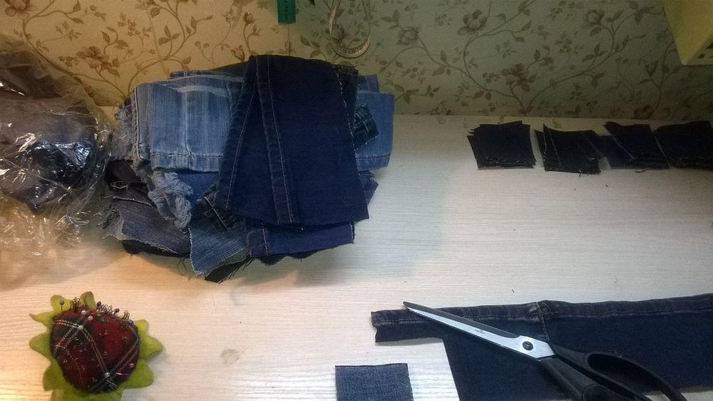 Что можно сделать из старых джинц, фото № 1