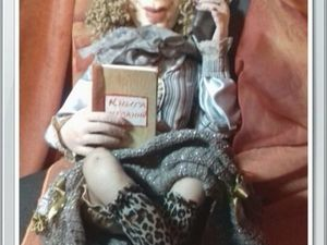 Анонс новой интерьерной игрушки  Берты Генриховны.. Ярмарка Мастеров - ручная работа, handmade.