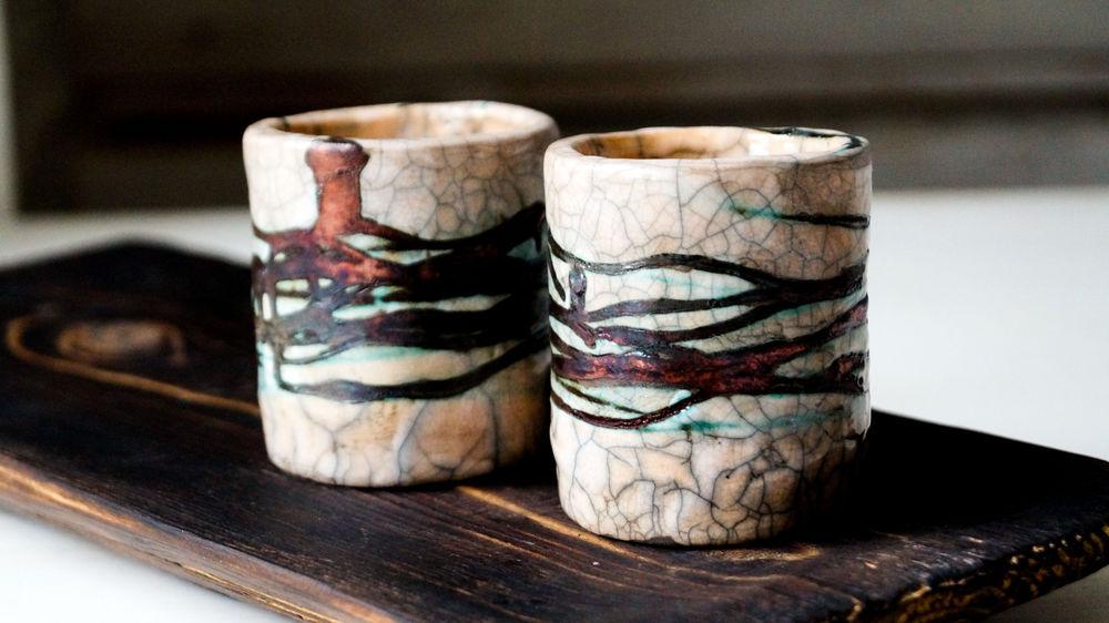 чайник, раку, автоская керамика