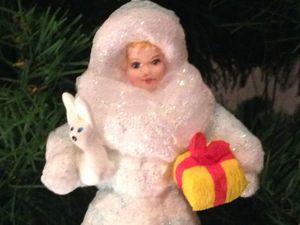Чудесные новогодние игрушки из ваты от Валентины. Посмотрите!. Ярмарка Мастеров - ручная работа, handmade.